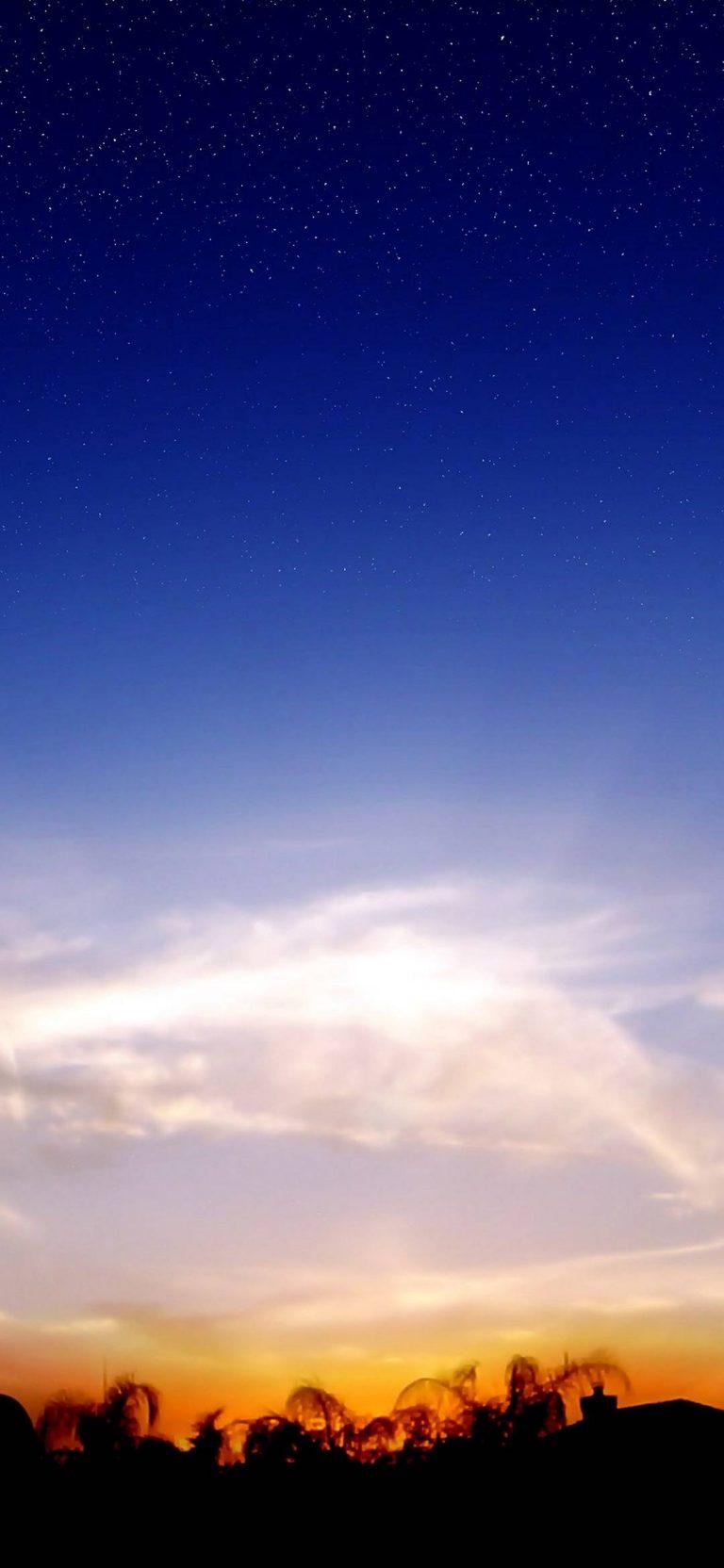 Wispy Sunset 1080x2340 768x1664
