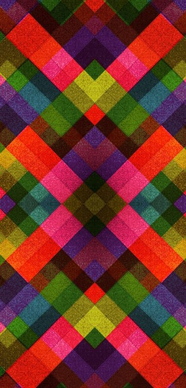 Abstract Multicolor Patterns Retro 1080x2244 380x790