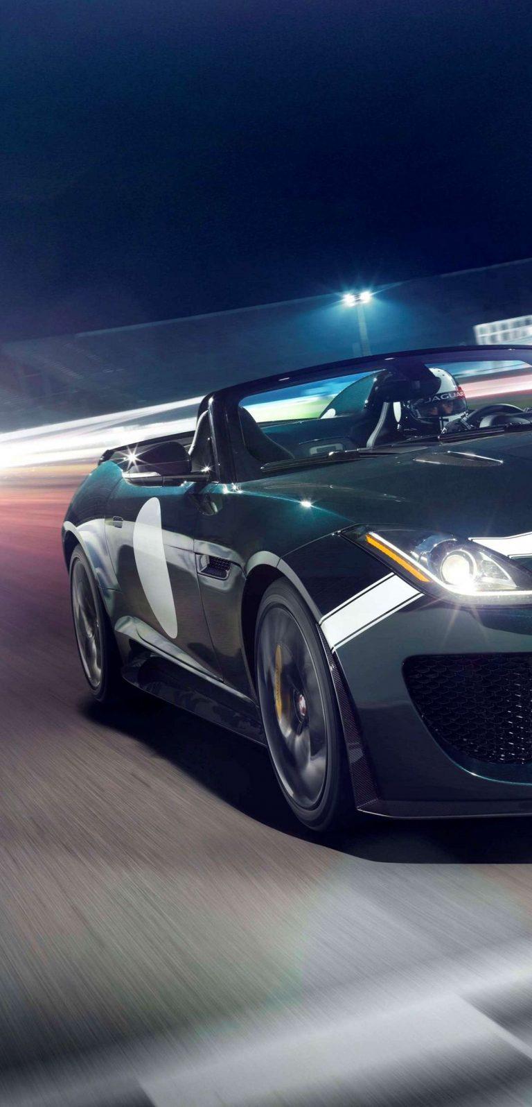 Jaguar F Type Project 7 2014 Wallpaper 1080x2244 768x1596