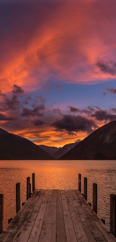 Lake Rotoiti New Zealand Wallpaper 1080x2244 380x790