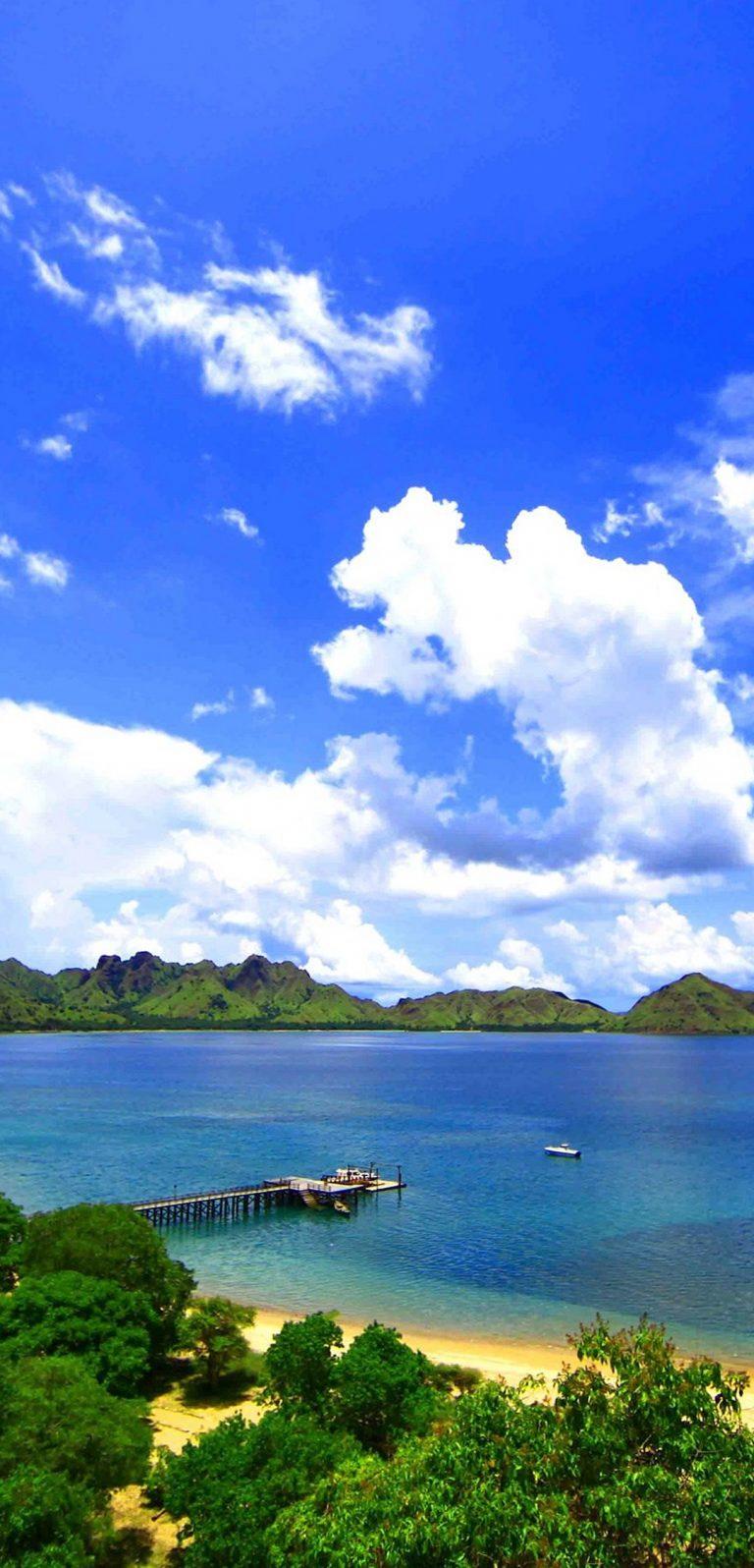 Landscape Island Komodo Sea Ocean 1080x2244 768x1596
