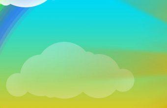 Rainbow Vector Cartoon Wallpaper 1080x2244 340x220