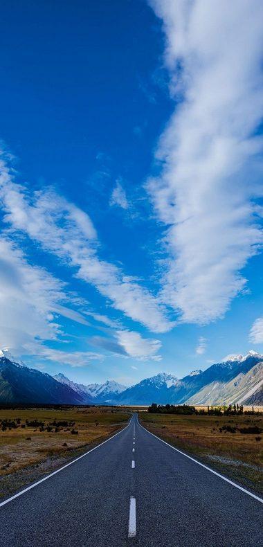 Road Sky Path 1080x2244 380x790