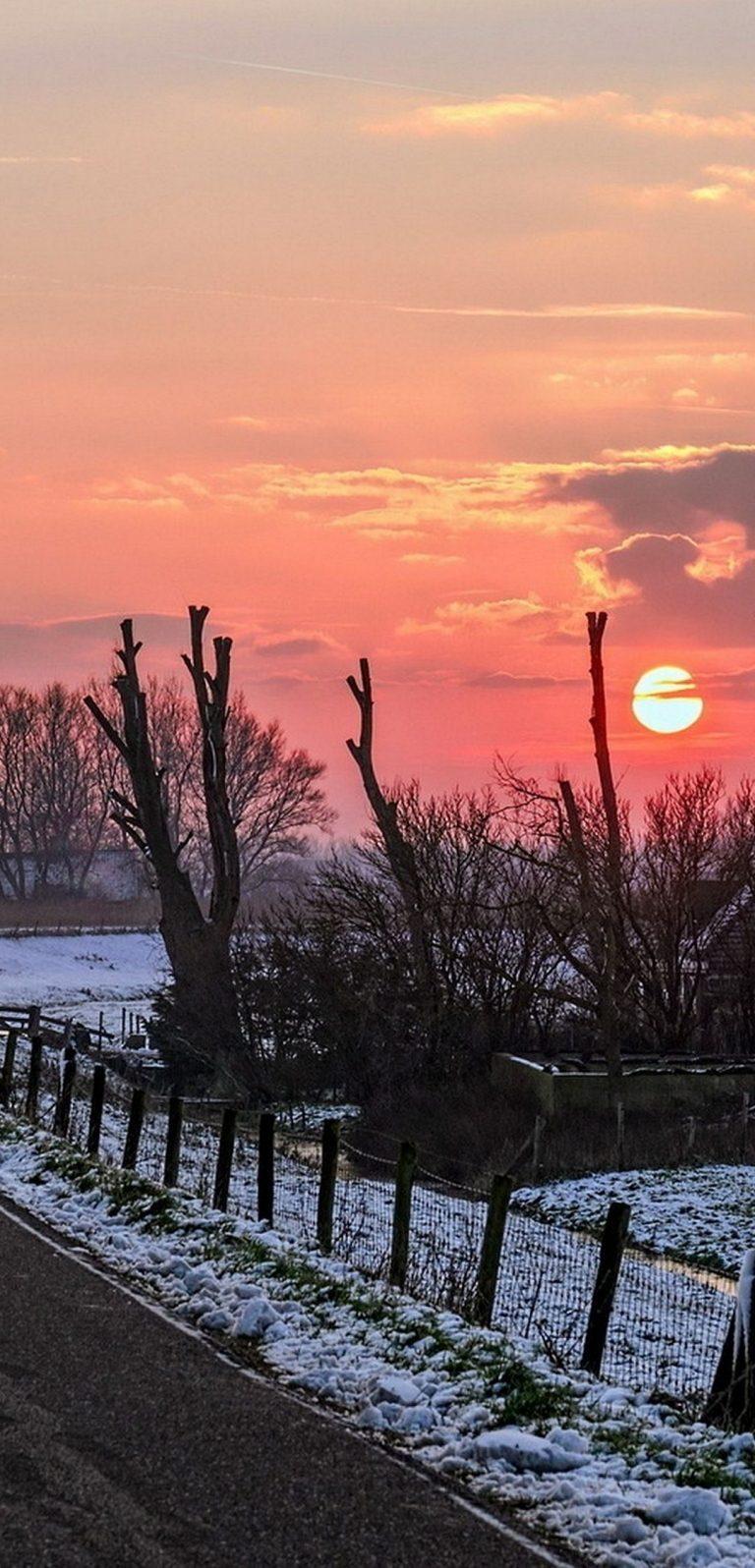 Winter Road Sky 1080x2244 768x1596