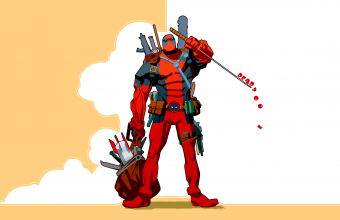 Deadpool Wallpaper 19 2560x1600 340x220