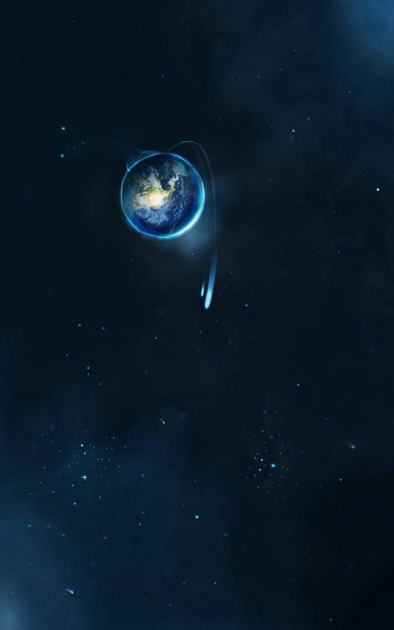Macro Space View Wallpaper 1200x1920 768x1229