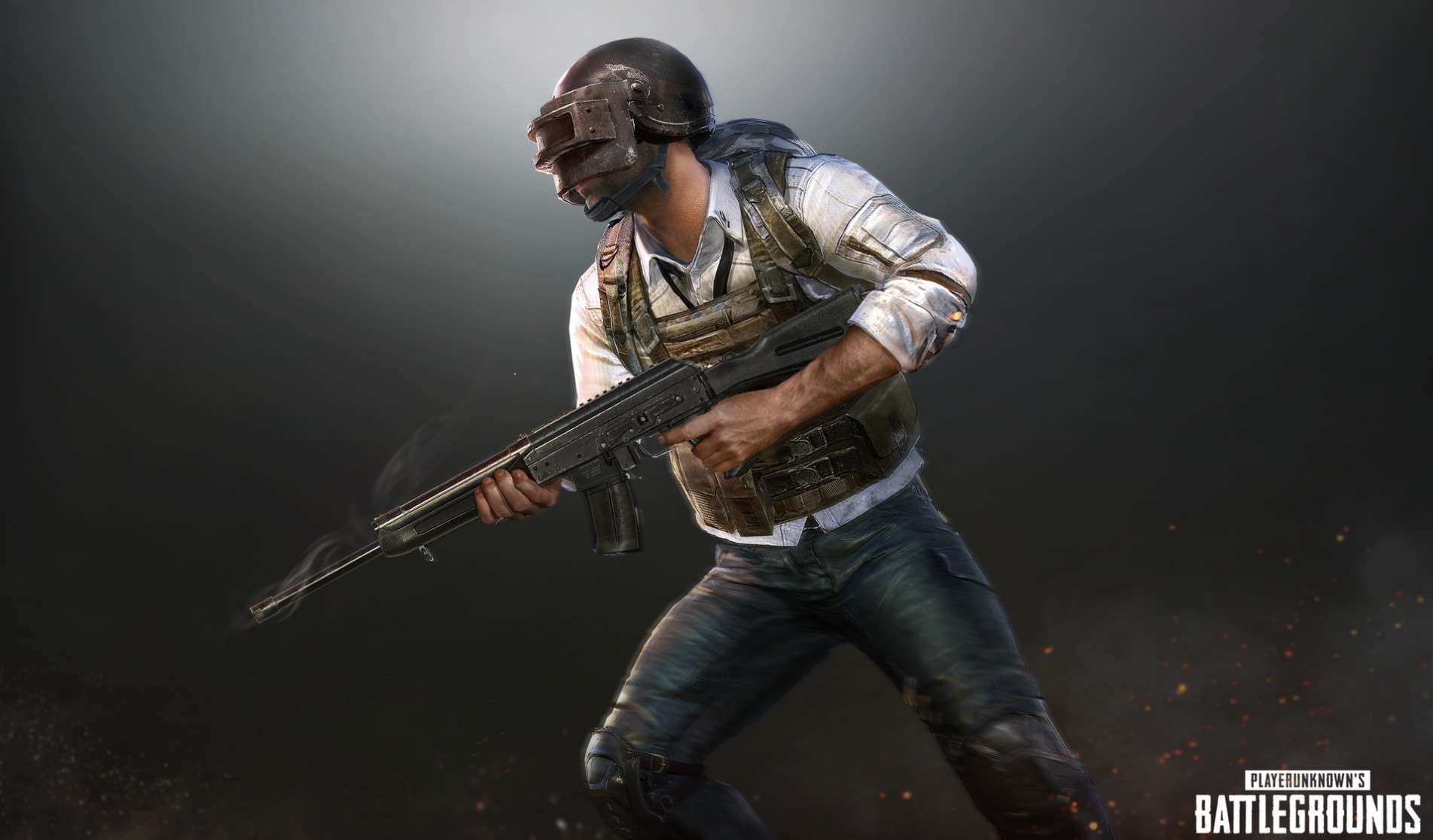 1920x1080 Pubg Helmet Guy Working Laptop Full Hd 1080p Hd: PUBG Wallpaper 17