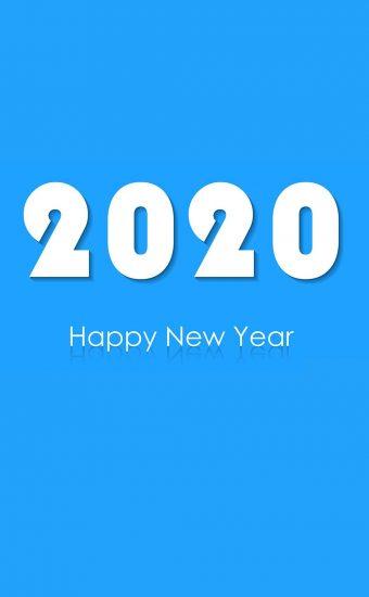 Happy New Year 2020 Phone Wallpaper 09 - [1080x2280]