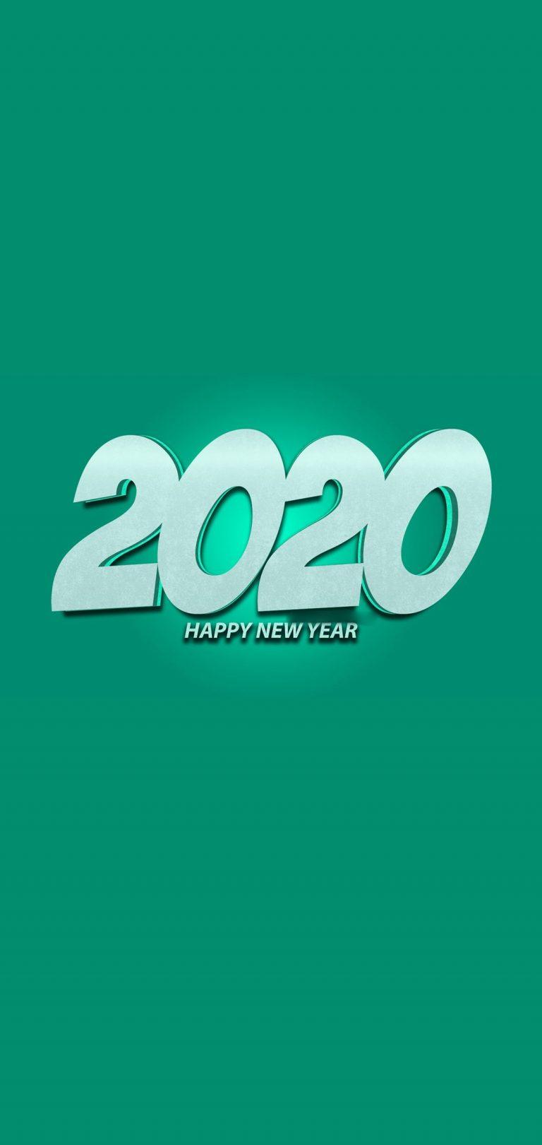 Happy New Year 2020 Phone Wallpaper 10 - [1080x2280]