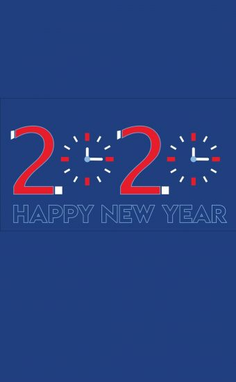 Happy New Year 2020 Phone Wallpaper 12 - [1080x2280]