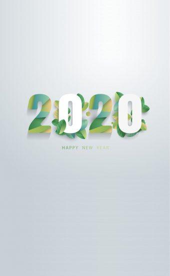 Happy New Year 2020 Phone Wallpaper 14 - [1080x2280]