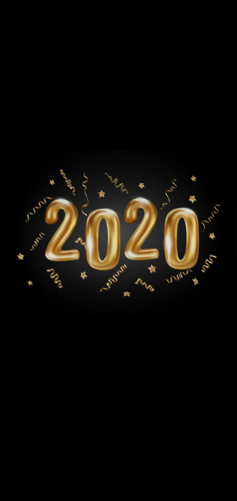 Happy New Year 2020 Phone Wallpaper 15 - [1080x2280]