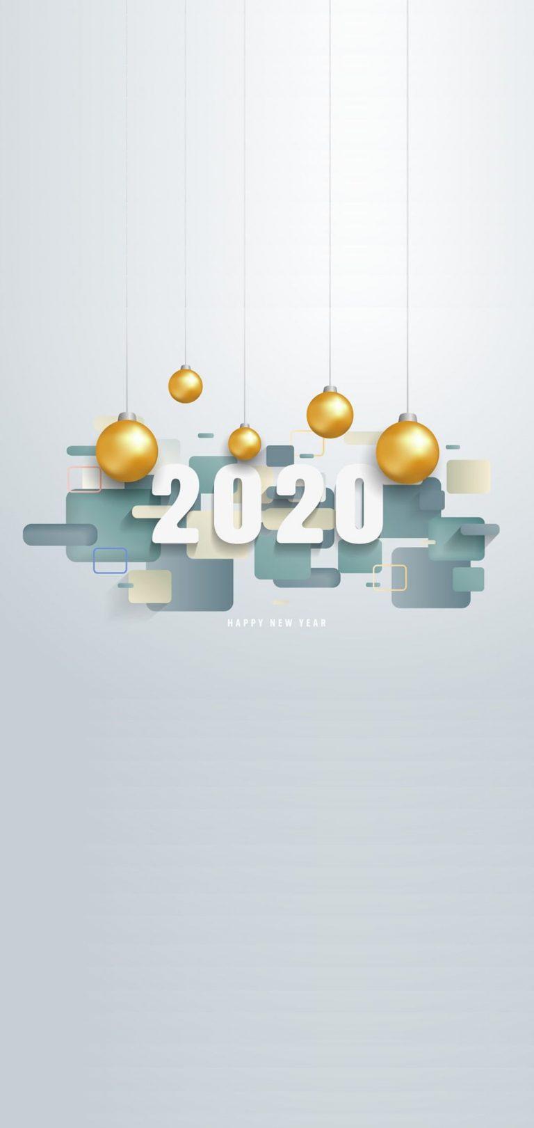 Happy New Year 2020 Phone Wallpaper 16 - [1080x2280]