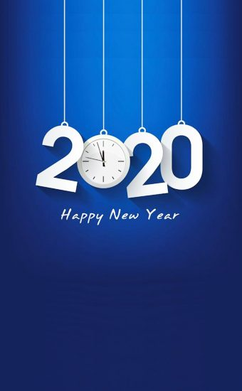 Happy New Year 2020 Phone Wallpaper 19 - [1080x2280]