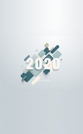 Happy New Year 2020 Phone Wallpaper 20 - [1080x2280]