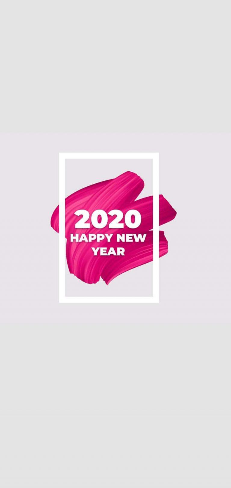 Happy New Year 2020 Phone Wallpaper 21 - [1080x2280]