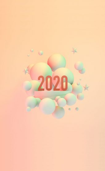 Happy New Year 2020 Phone Wallpaper 23 - [1080x2280]