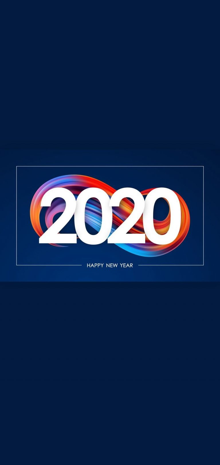 Happy New Year 2020 Phone Wallpaper 25 - [1080x2280]