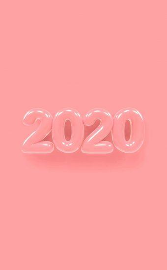 Happy New Year 2020 Phone Wallpaper 26 - [1080x2280]