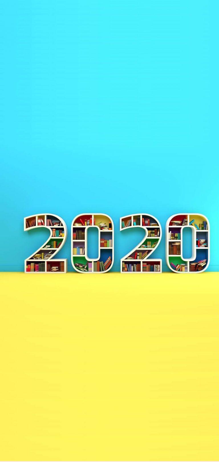 Happy New Year 2020 Phone Wallpaper 27 - [1080x2280]