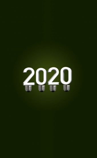 Happy New Year 2020 Phone Wallpaper 28 - [1080x2280]