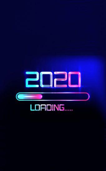 Happy New Year 2020 Phone Wallpaper 29 - [1080x2280]