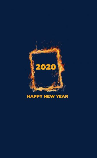 Happy New Year 2020 Phone Wallpaper 30 - [1080x2280]