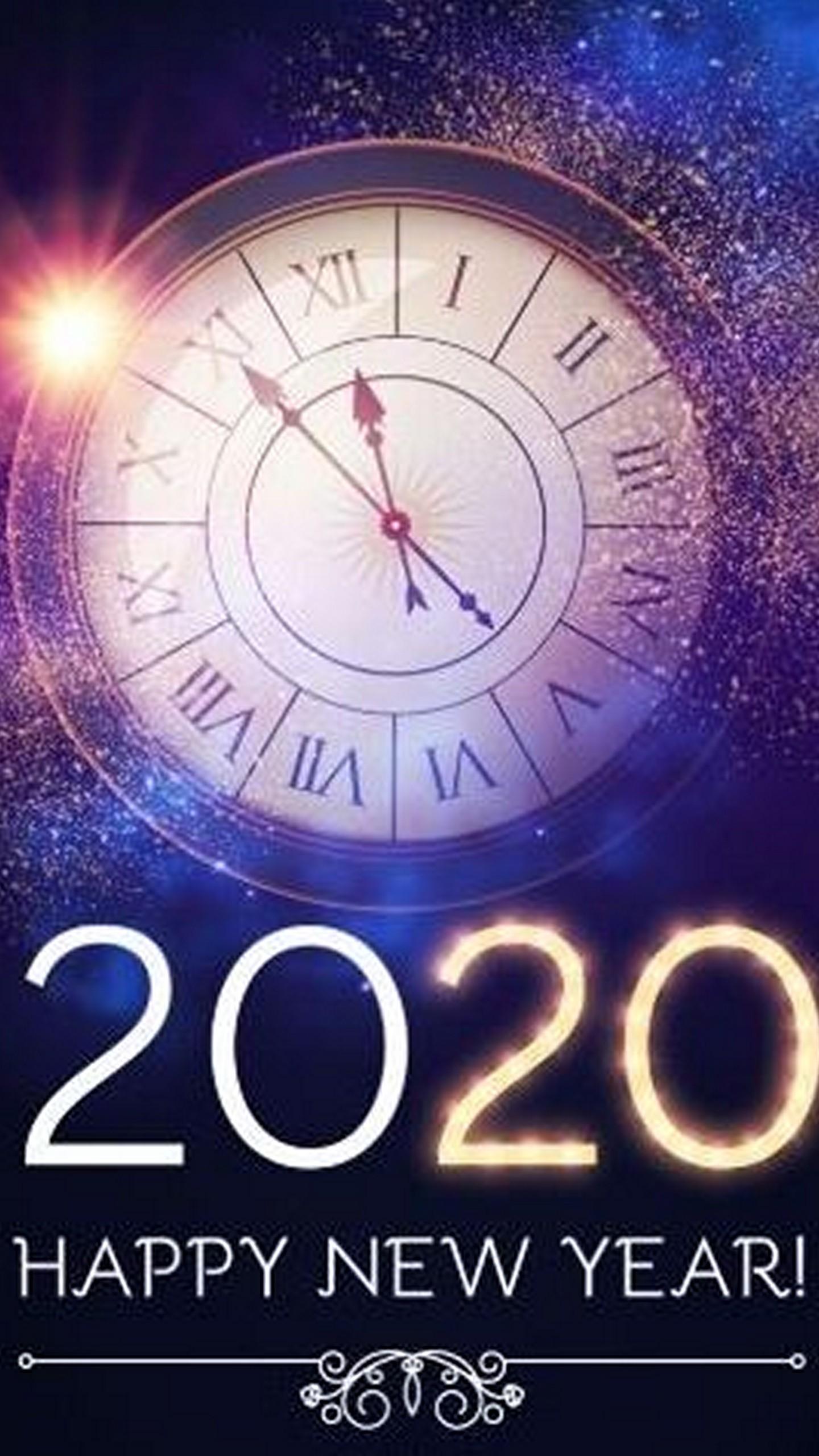 Happy New Year 2020 Wallpaper 01 1440x2560