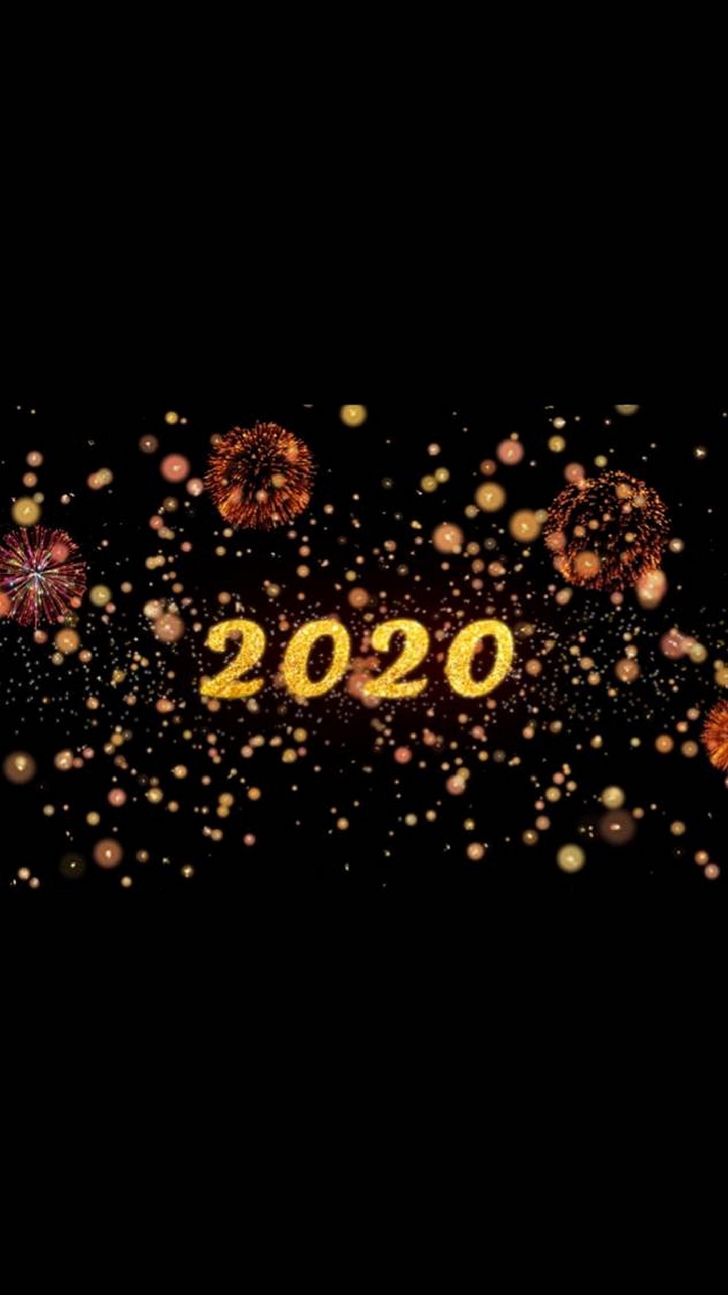 Happy New Year 2020 Wallpaper 11 1440x2560