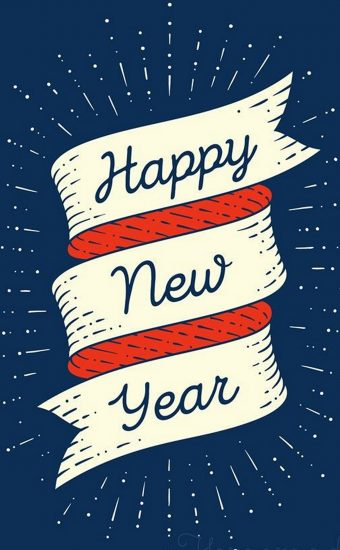 Happy New Year Wallpaper 040 1440x2560 340x550