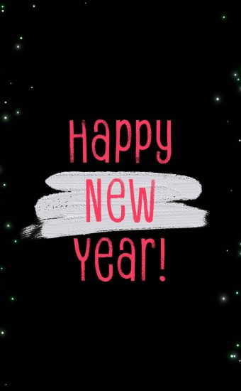 Happy New Year Wallpaper 041 1440x2560 340x550