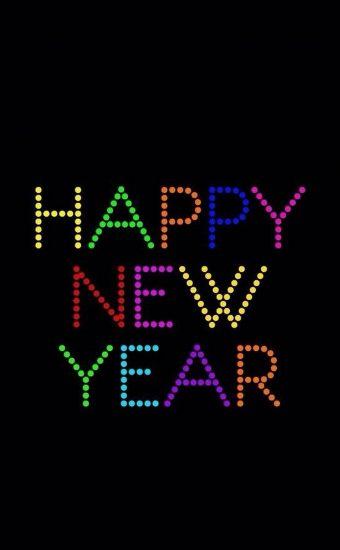 Happy New Year Wallpaper 042 1440x2560 340x550