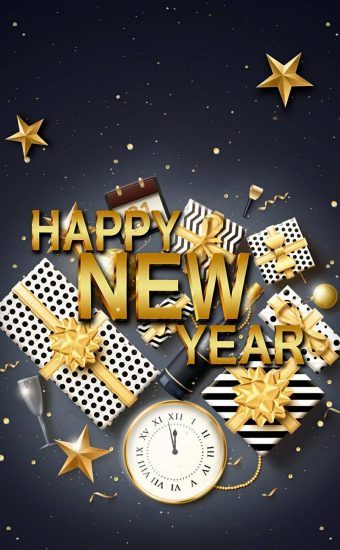 Happy New Year Wallpaper 048 1440x2560 340x550