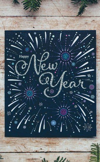 Happy New Year Wallpaper 049 1440x2560 340x550