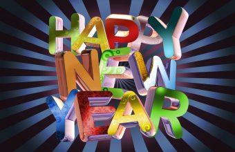 Happy New Year Wallpaper 05 1920x1200 340x220
