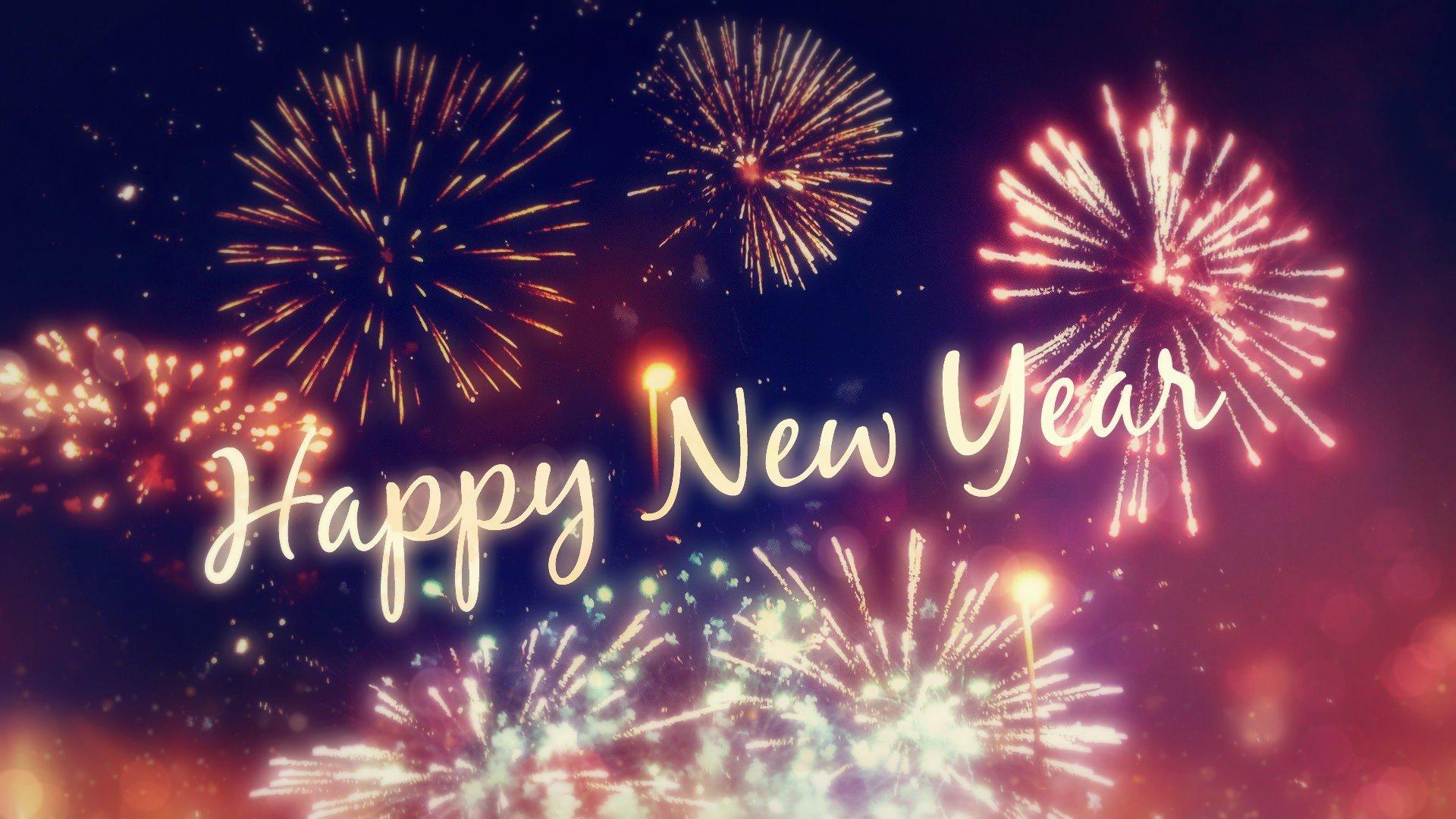 Happy New Year Wallpaper 13 - 1920x1080