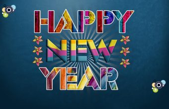 Happy New Year Wallpaper 33 1920x1200 340x220