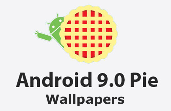 Android 9 Pie Stock Wallpapers