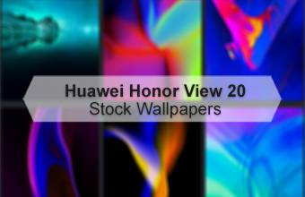 Huawei Honor View 20 Stock Wallpapers