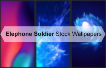 Elephone Soldier Stock Wallpapers