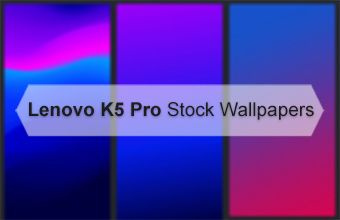 Lenovo K5 Pro Stock Wallpapers