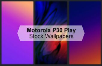 Motorola P30 Play Stock Wallpapers
