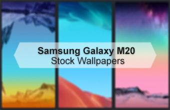 Samsung Galaxy M20 Stock Wallpapers
