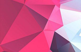 3D Pink Polygon 800x1280 340x220