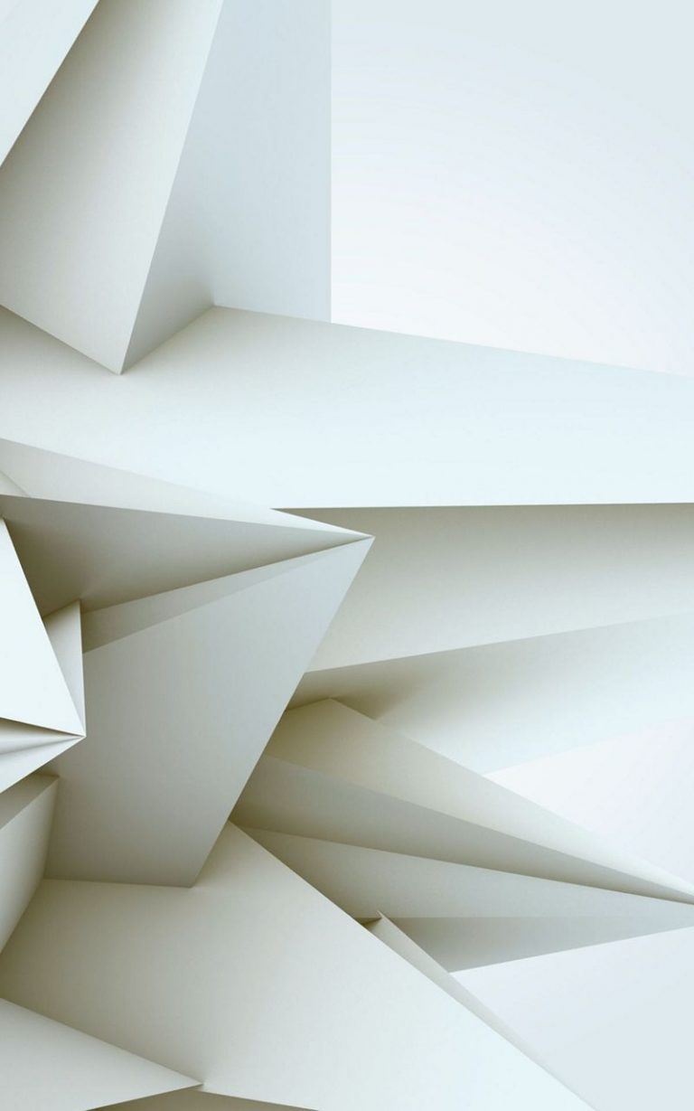 3D White Blocks 800x1280 768x1229