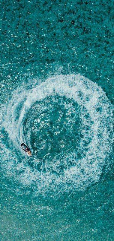 Aerial View Ocean 1080x2270 380x799
