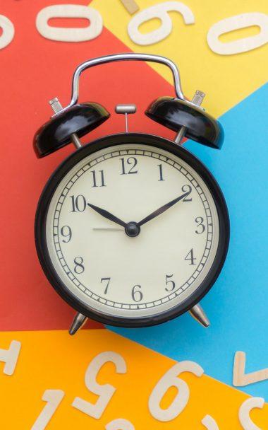 Alarm Clock Clock Numbers 800x1280 380x608