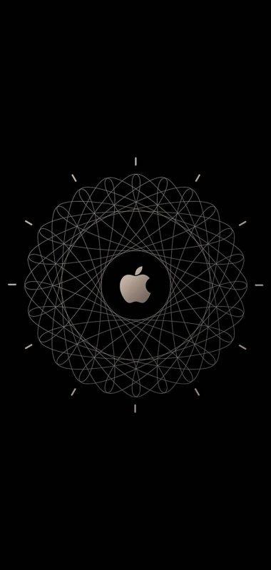 Apple Logo Brown Technology 1080x2270 380x799