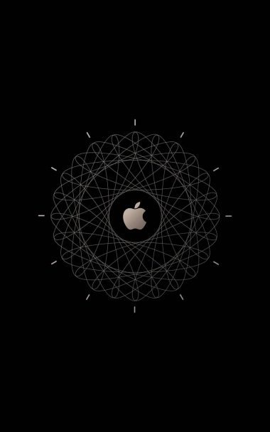 Apple Logo Brown Technology 800x1280 380x608