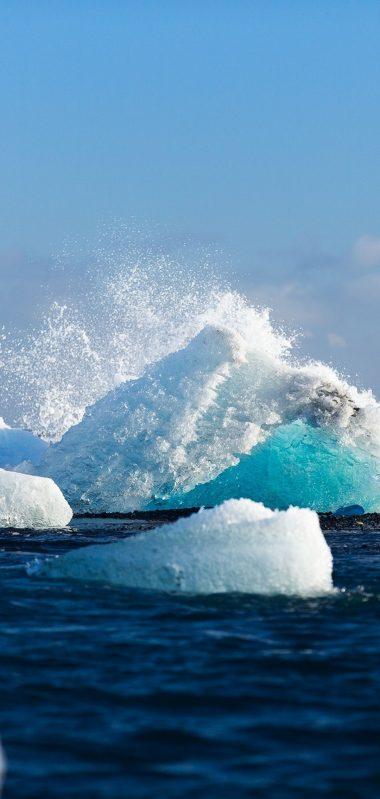 Arctic Ice Iceberg Snow 1080x2270 380x799